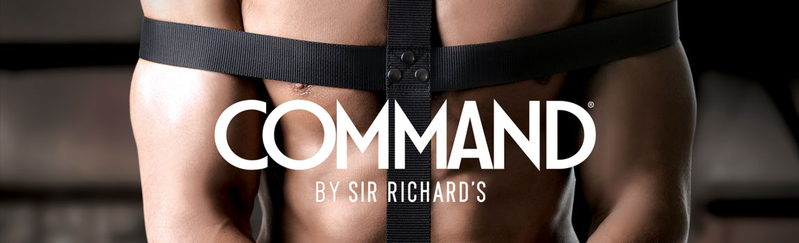 SIR RICHARDS - COMMAND JUGUETES PARA HOMBRES