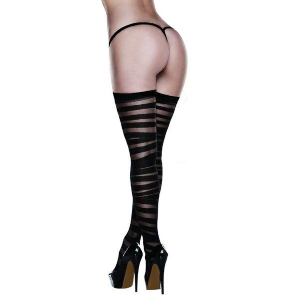Sex Shop - MEDIAS BACI AD2039-S TALLA UNICA - Sexshop Online y venta de productos Er�ticos muy baratos