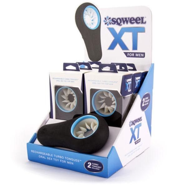 Sex Shop - SQWEEL XT ORAL SEX DISPLAY CON 6 UDS + 1 TESTER - Sexshop Online y venta de productos Er�ticos muy baratos